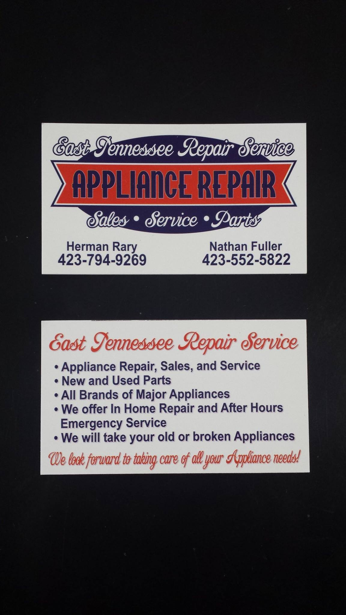 East TN Repair Service