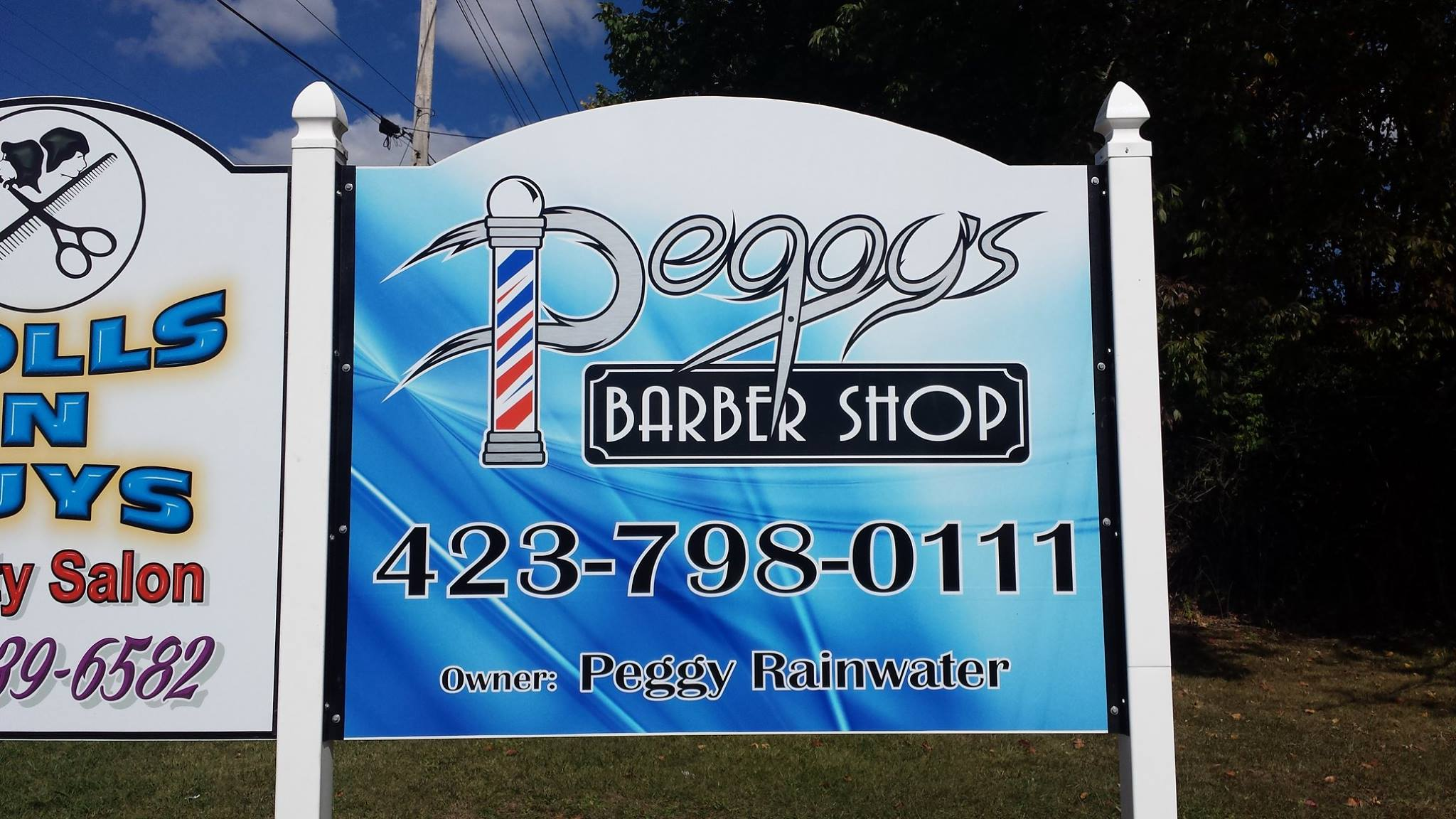 Peggy's Barber Shop