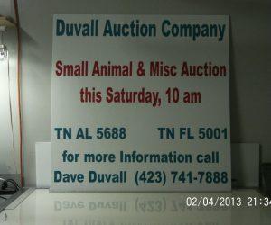Duvall Auction Company